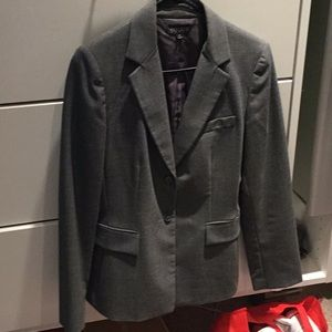 Professional gray suit